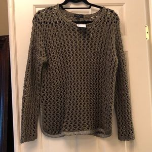 Rag and Bone army green sweater new with tags